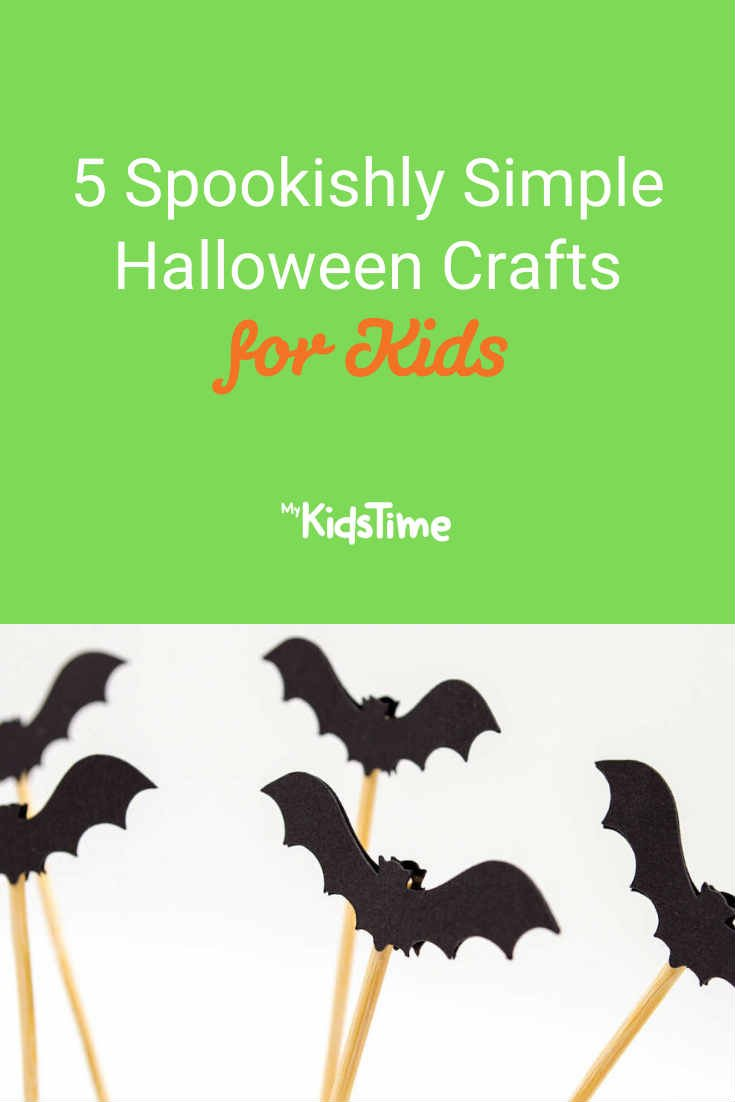 5 Spookishly Simple Halloween Crafts for Kids - Mykidstime