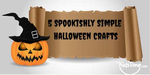 5 Spookishly Simple Halloween Crafts