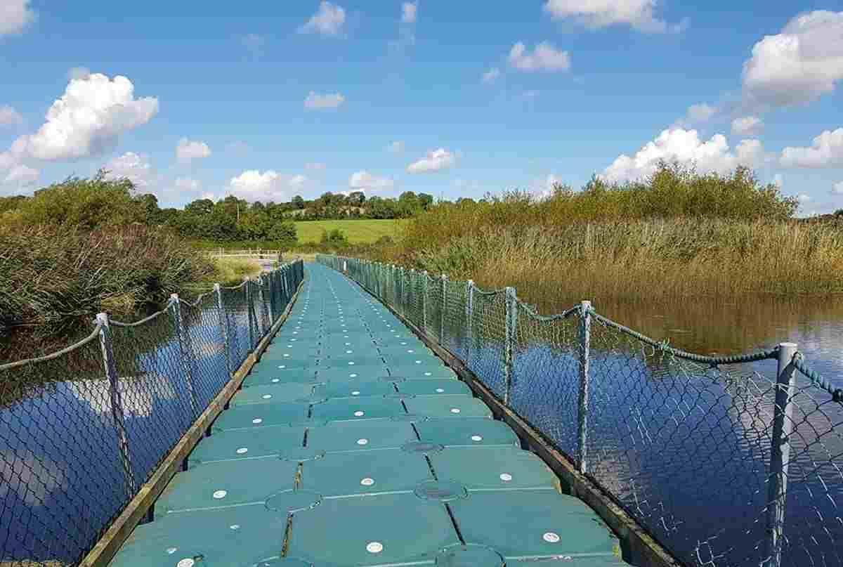 Ballybay wetlands for walks in Monaghan