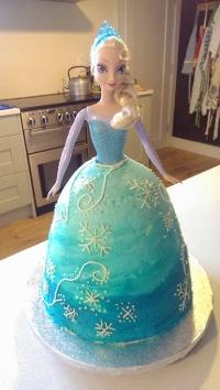 Big Elsa Cake