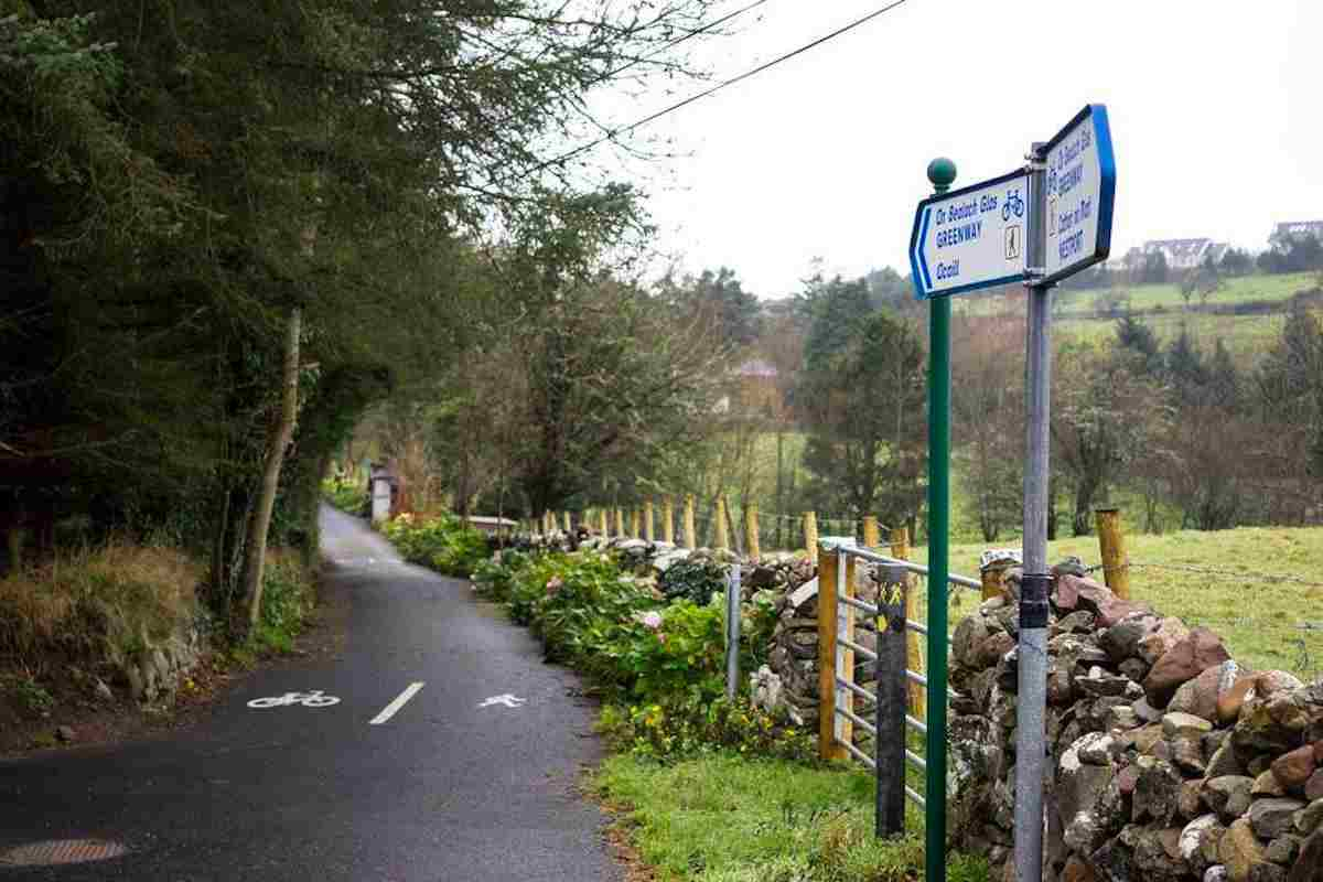 Great Western Greenway for walks in mayo