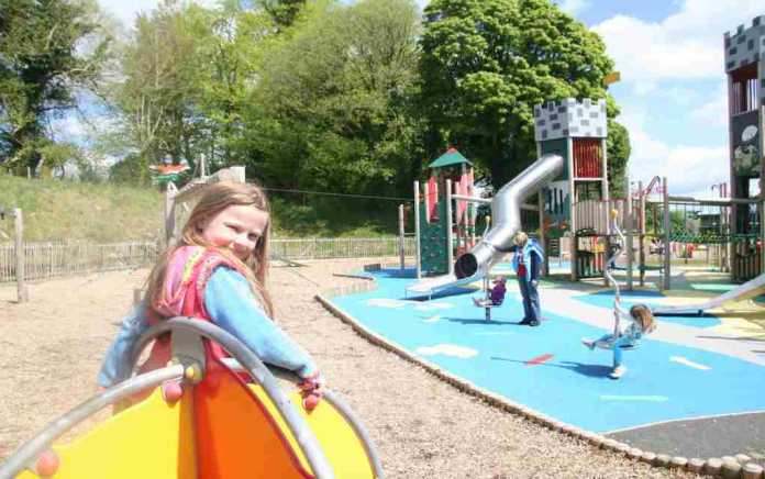 Lough Key Forest Park Adventure Playground