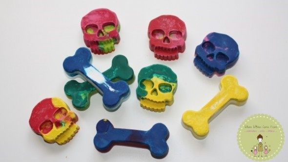 My Kids Time Skull Crayons