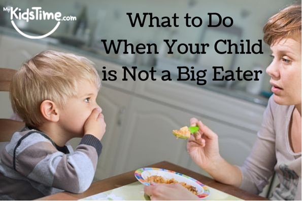 What to Do When Your Child is Not a Big