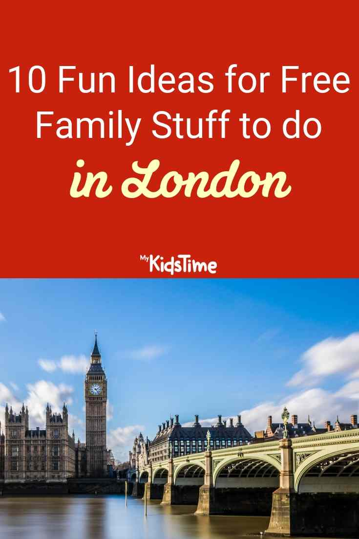 free family things to do in london