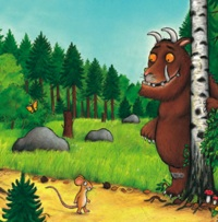 Gruffalo at glor