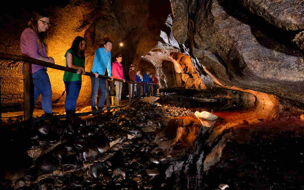 Marble Arch Caves Family vacation Ireland