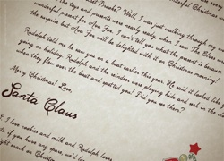 My Letter from Santa Claus