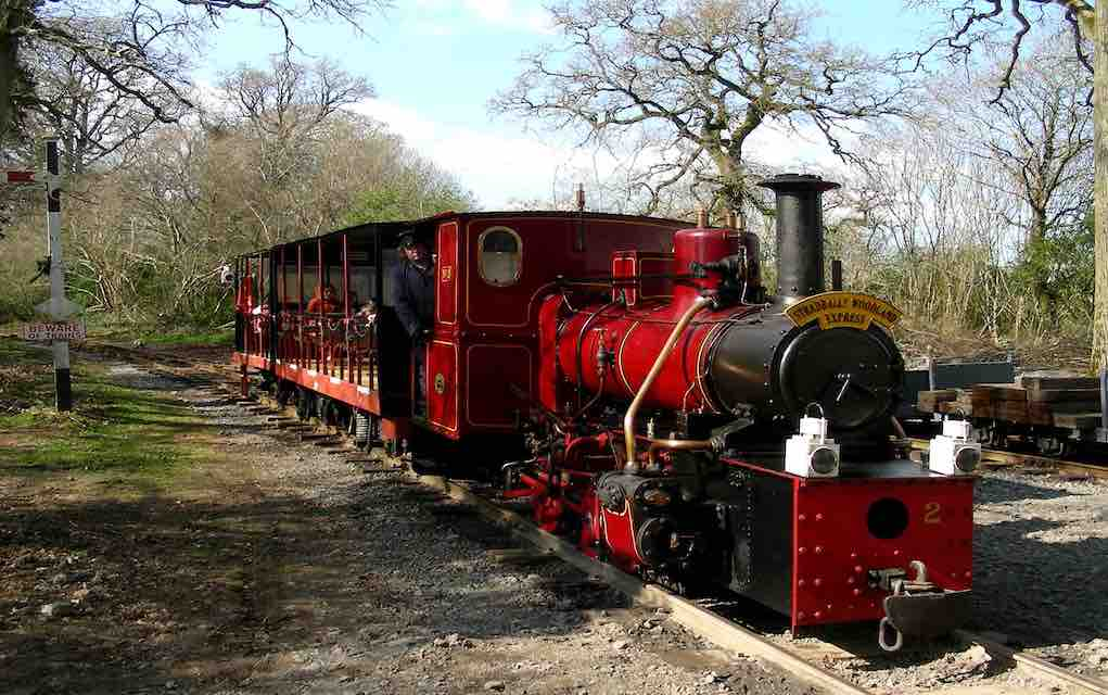 Stradbally woodland express