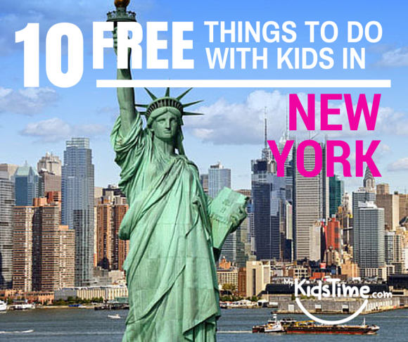 10 free things to do with kids in new york city