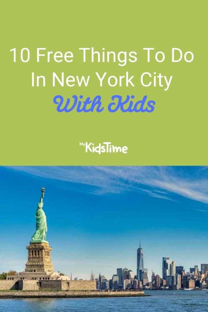 10 Free Things To Do In New York City With Kids