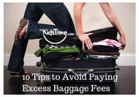 avoid paying excess baggage fees