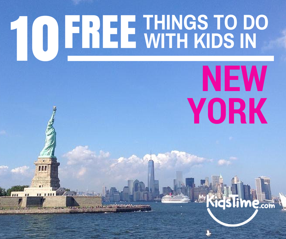 10 free things to do with kids in new york city for Thing to do new york