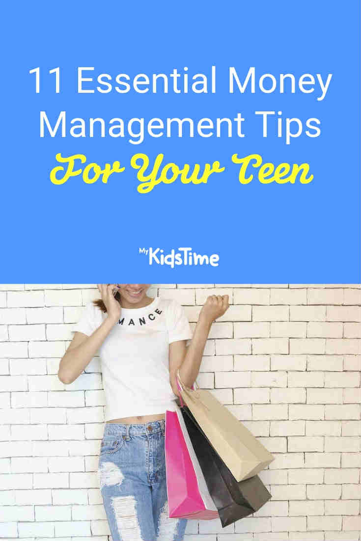 11 Essential money management tips for your teen - Mykidstime