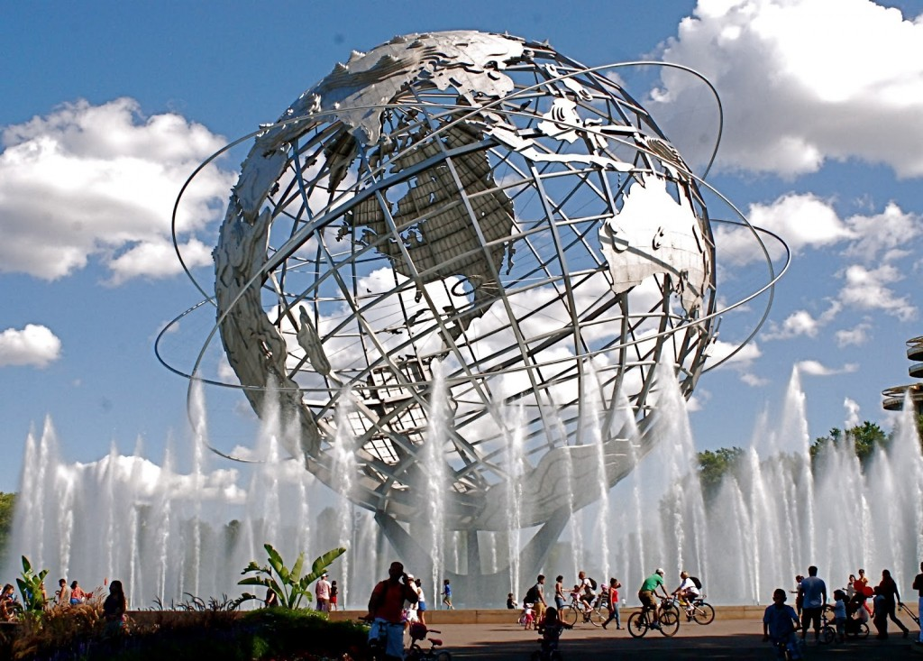 World trade globe Flushing meadows, queens, nyc free things to do with kids in new york city