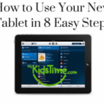 how to use your new tablet