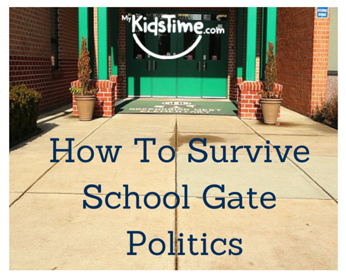 how to survive school gate politics