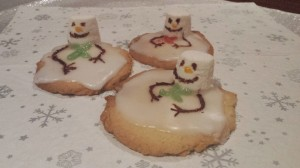easy christmas cookies recipe Melting Snowman