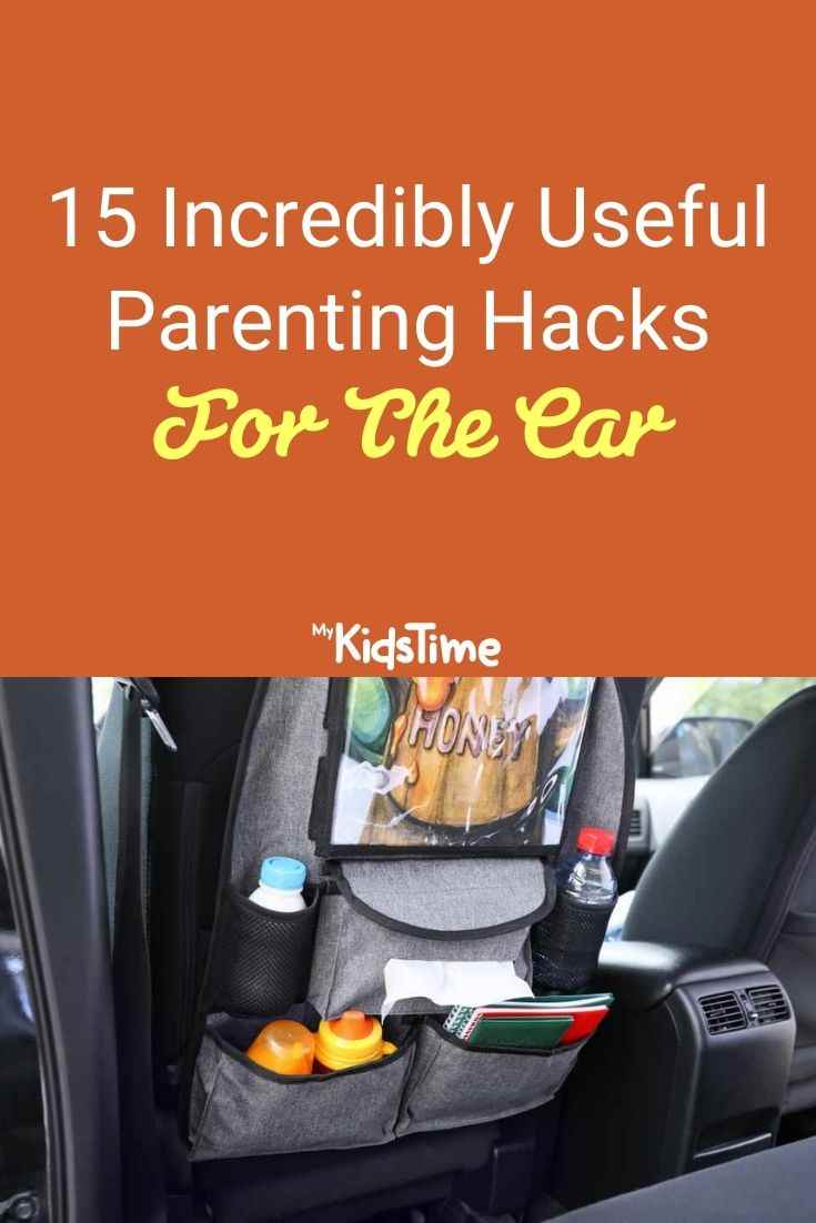 15 Incredibly Useful Parenting Hacks for the Car