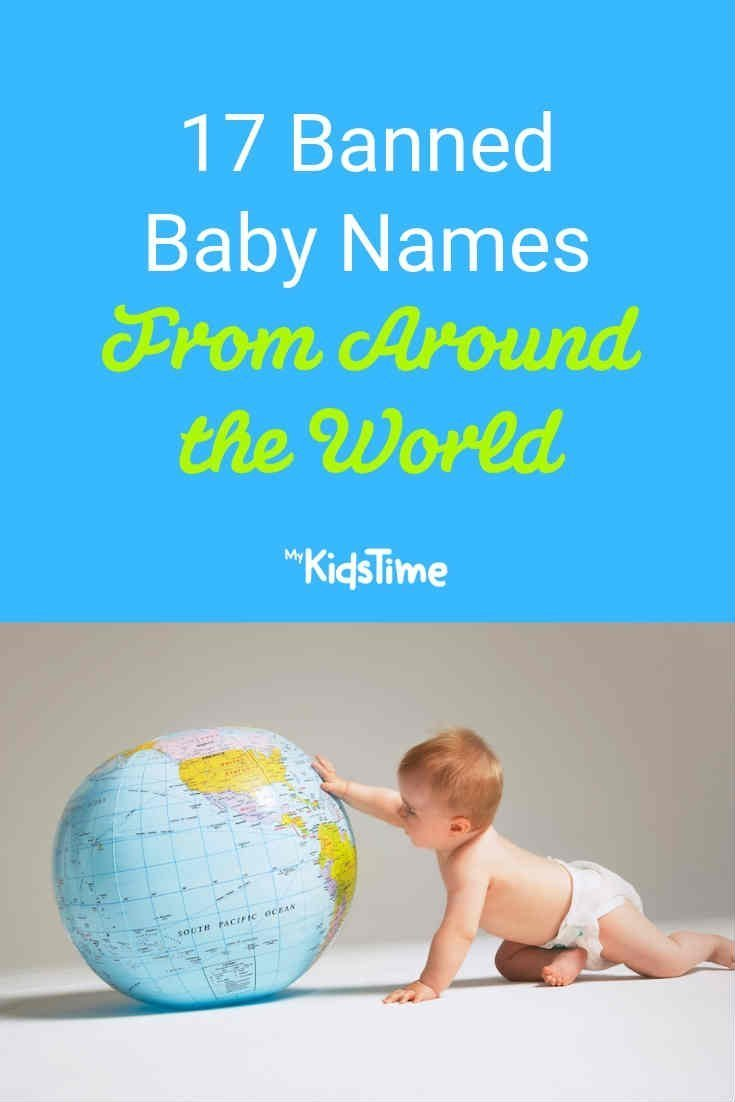 17 Banned baby names from around the world - Mykidstime
