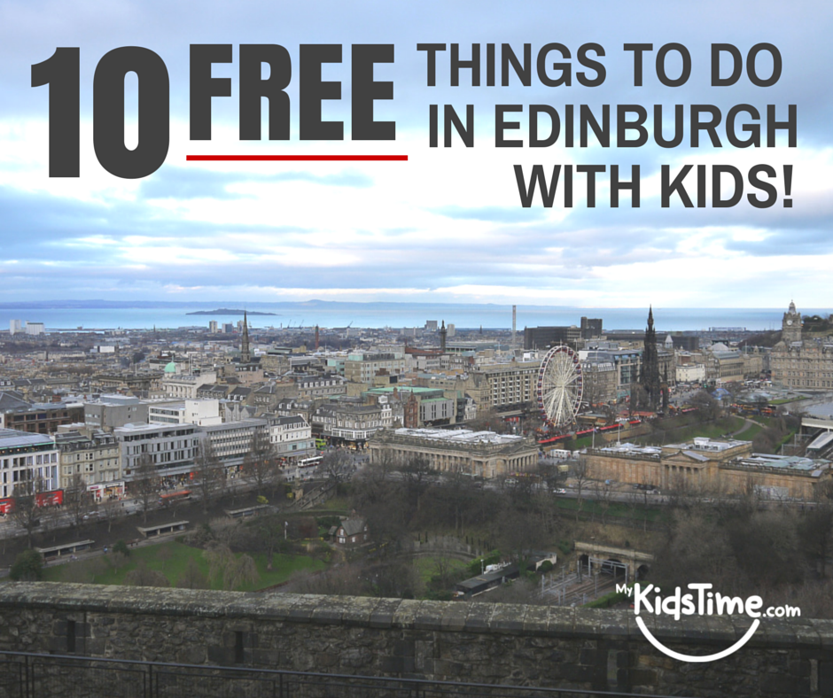 free things to do in Edinburgh with kids