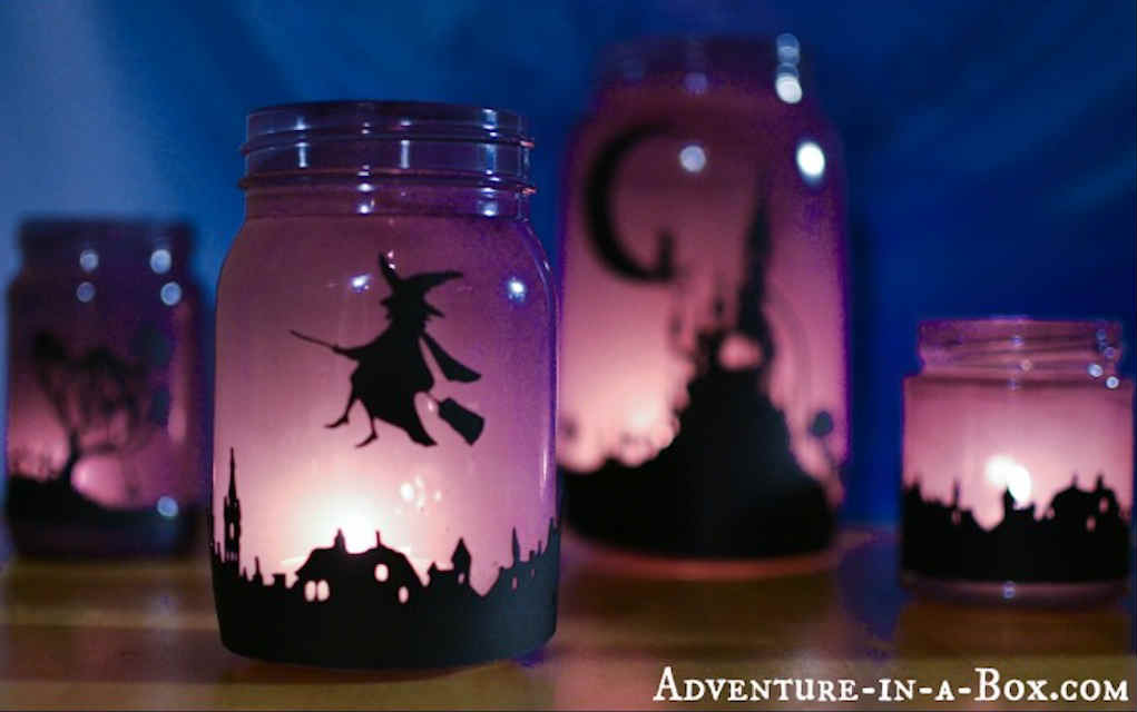 Silhouette lanterns for funky crafts - Mykidstime