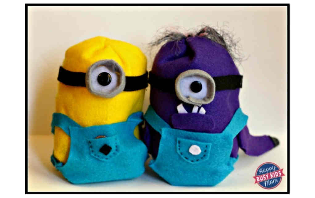 Mini Minion for funky crafts - Mykidstime