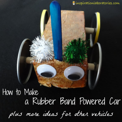 Rubber-Band-Powered-Car