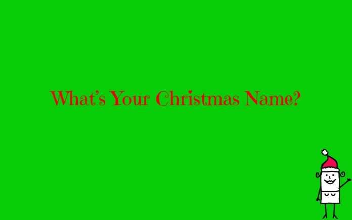 What's Your Christmas Name