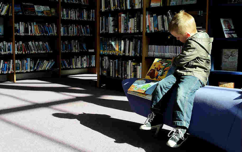 child in library for free things to do in Louth - Mykidstime