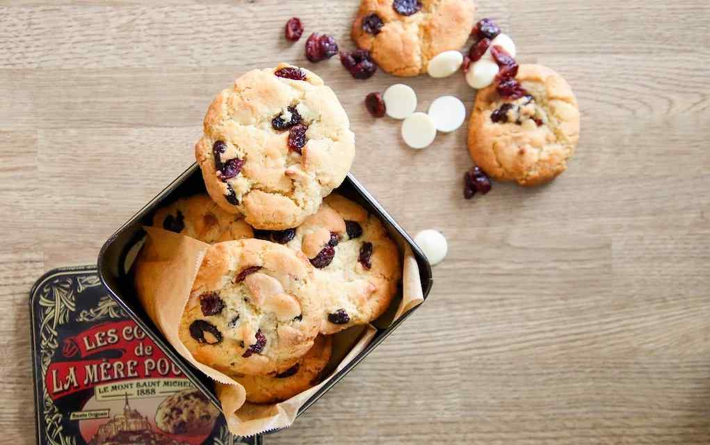 cranberry and white chocolate cookies (1)
