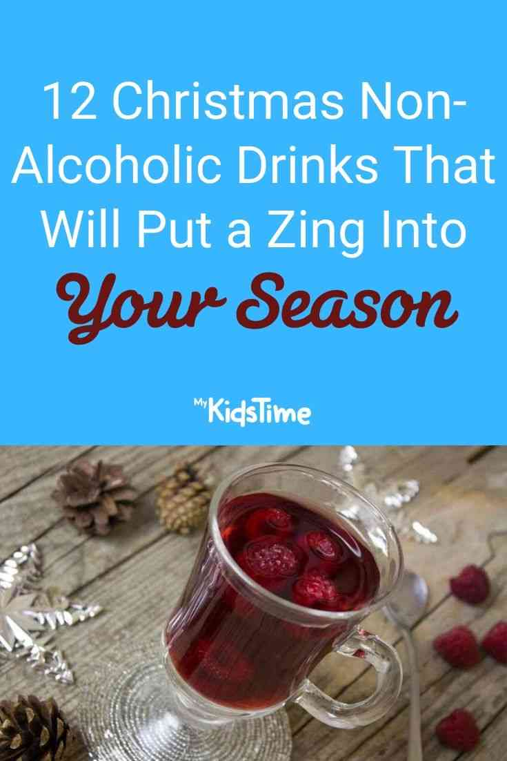 non alcoholic christmas drinks