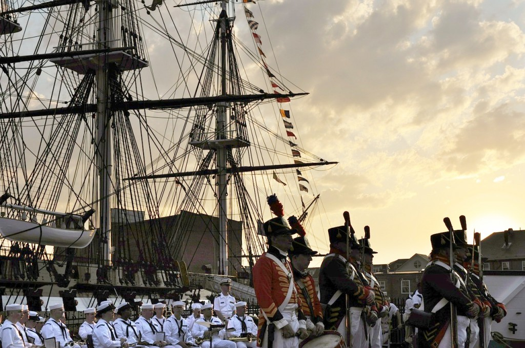 free things to do in boston with kids uss-constitution