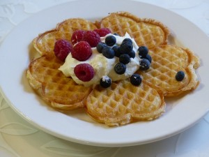 Bake Sale Ideas waffles