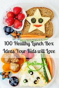 100 Healthy Lunch Box Ideas Your Kids will
