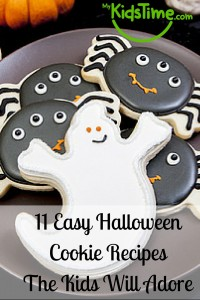 11 Easy Halloween Cookie Recipes the Kids will Adore
