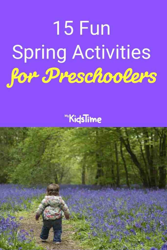 15 Fun Spring Activities for Preschoolers