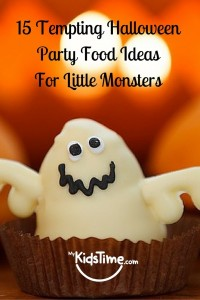 15 Tempting Halloween Party Food Ideas for Little Monsters