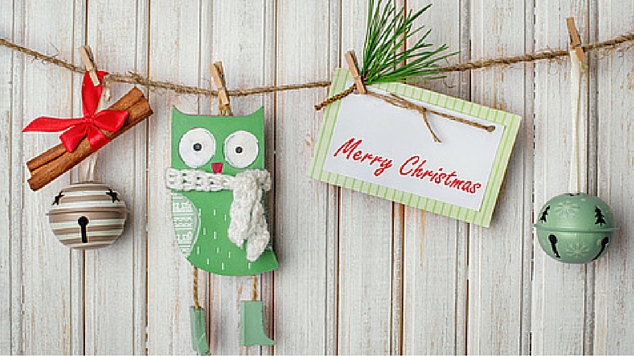 20 homemade christmas decorations for kids to make treasure - Homemade Christmas Decorations For Kids