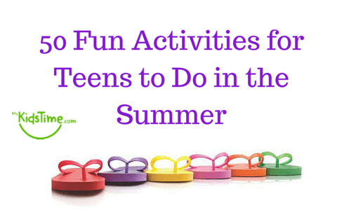 50 fun activities for teens to do in the summer