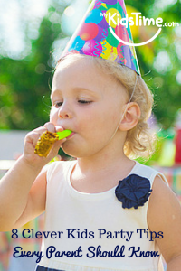 8 Clever Kids Party Tips