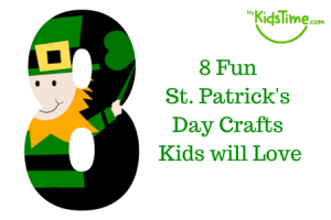 8 Fun St Patrick's Day Crafts the Kids