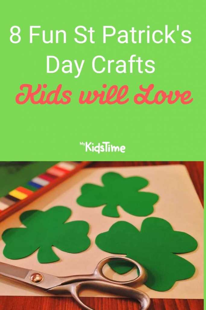 8 Fun St Patrick's Day Crafts Kids will Love