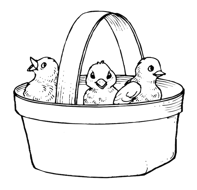 Activity Village Easter colouring pages - Mykidstime