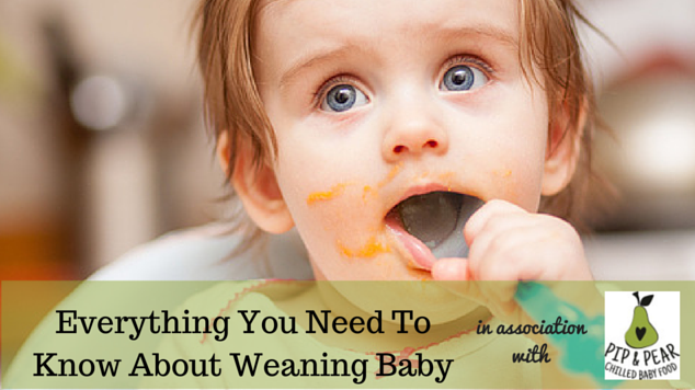 Baby weaning sponsored pip and pear featured