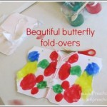 Art Projects for Kids Butterfly Painting from Teach Preschool