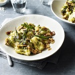 Gnocci Pesto with Walnuts