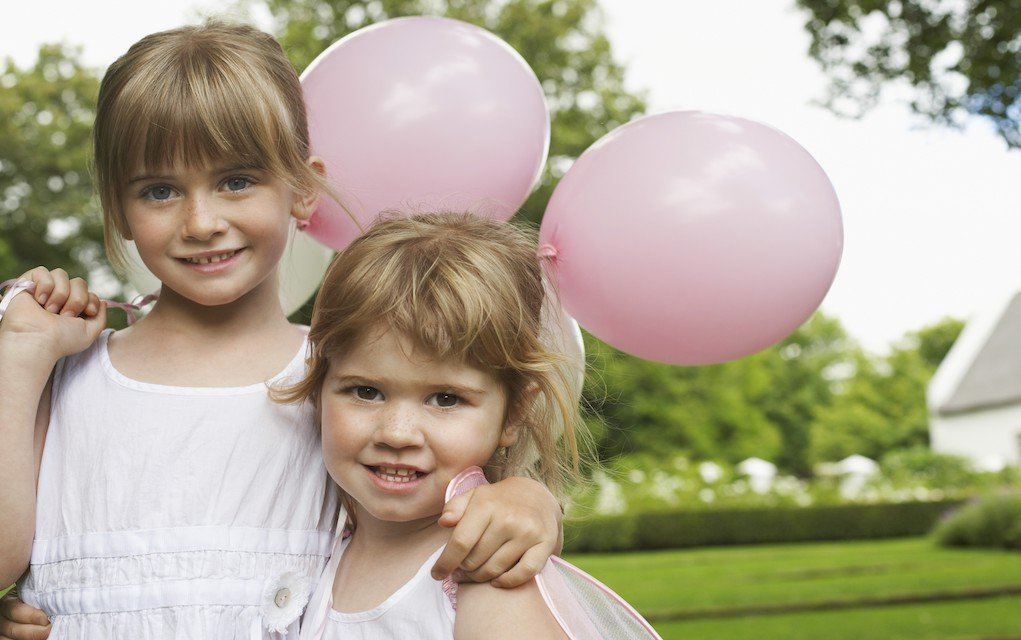 Children with balloons outdoor activities for toddlers