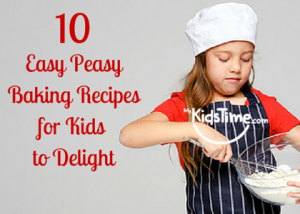 Easy Peasy Baking Recipes for Kids to