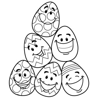 Easter coloring pages games ~ Fun Easter Colouring Pages for Kids